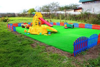 Детская площадка у себя на даче