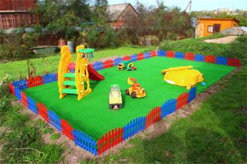 Готовая детская площадка у себя на даче