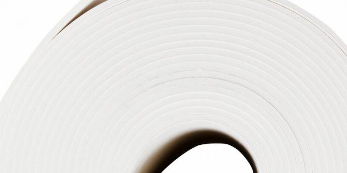 Вид рулонной подложки под обои